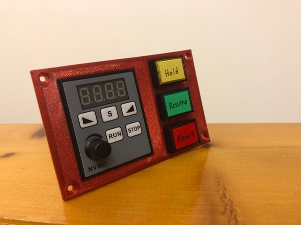 Electronics Enclosure - Control Panel and Continued CNC Design.