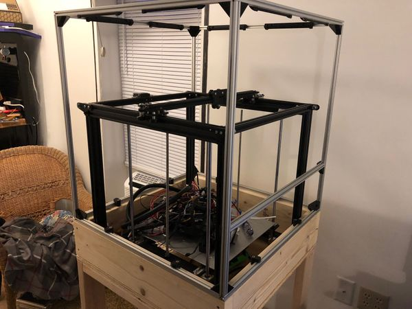 "Large 3D Printer - Project ""Heavy Tombstone"""